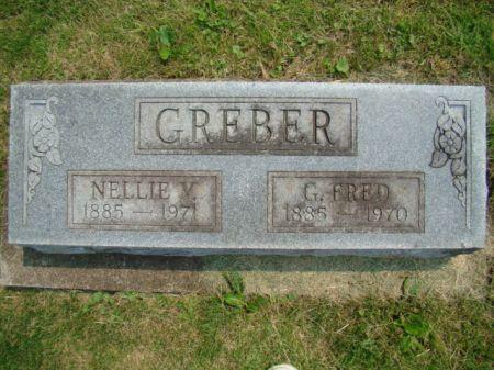 GREBER, NELLIE VIOLET - Jefferson County, Iowa   NELLIE VIOLET GREBER