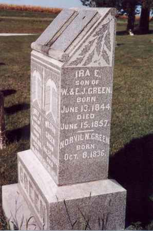 GREEN, IRA E - Jefferson County, Iowa | IRA E GREEN
