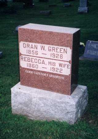 HAWK GREEN, CAROLYN REBECCA - Jefferson County, Iowa | CAROLYN REBECCA HAWK GREEN