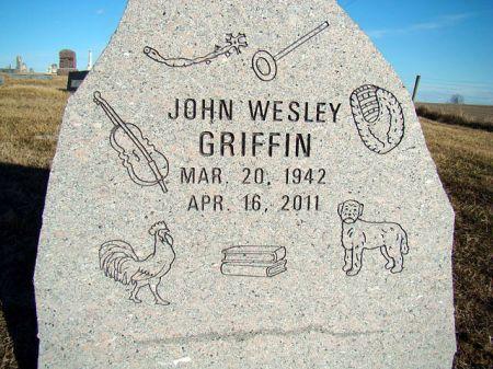 GRIFFIN, JOHN WESLEY - Jefferson County, Iowa   JOHN WESLEY GRIFFIN