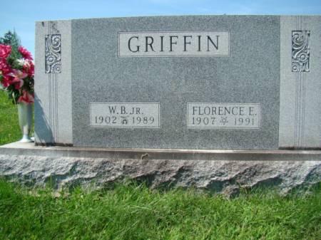ZEIGLER GRIFFIN, FLORENCE ELIZABETH - Jefferson County, Iowa | FLORENCE ELIZABETH ZEIGLER GRIFFIN