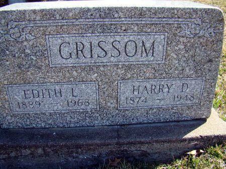 GRISSOM, HARRY D - Jefferson County, Iowa | HARRY D GRISSOM