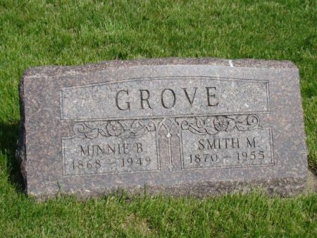 GROVE, SMITH M - Jefferson County, Iowa | SMITH M GROVE
