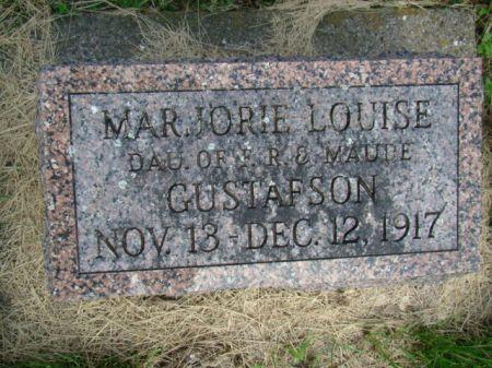GUSTAFSON, MARJORIE LOUISE - Jefferson County, Iowa   MARJORIE LOUISE GUSTAFSON