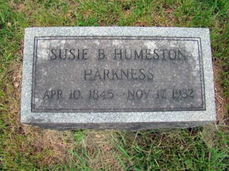 HARKNESS, SUSAN B - Jefferson County, Iowa   SUSAN B HARKNESS
