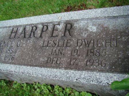 HARPER, LESLIE DWIGHT - Jefferson County, Iowa | LESLIE DWIGHT HARPER