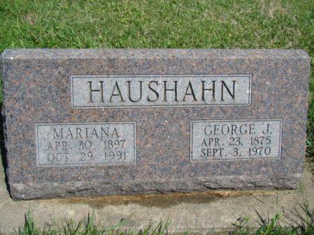 HAUSHAHN, MARIANA - Jefferson County, Iowa | MARIANA HAUSHAHN