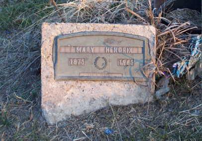 HENDRIX, MARY - Jefferson County, Iowa | MARY HENDRIX