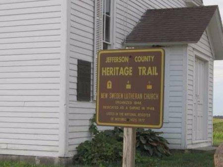 HERITAGE TRAIL, CENTENNIAL SIGN - Jefferson County, Iowa   CENTENNIAL SIGN HERITAGE TRAIL