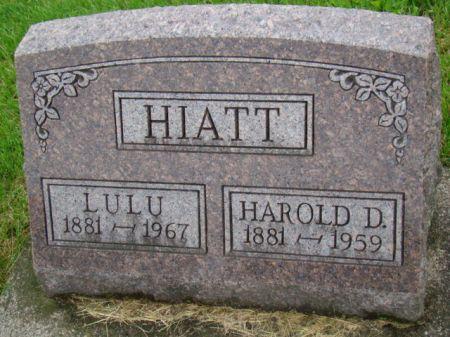HIATT, HAROLD DAWSON - Jefferson County, Iowa   HAROLD DAWSON HIATT