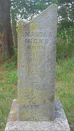 HICKS, AMANDA A. - Jefferson County, Iowa | AMANDA A. HICKS