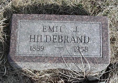 HILDEBRAND, EMIL - Jefferson County, Iowa | EMIL HILDEBRAND
