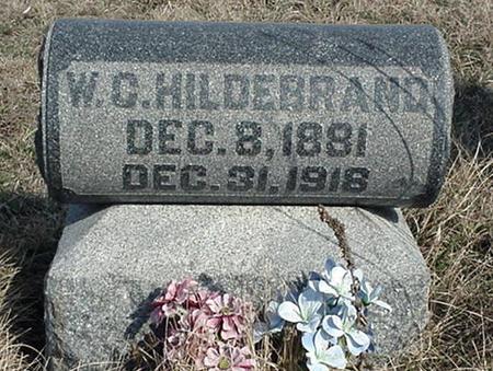 HILDEBRAND, W. C. - Jefferson County, Iowa | W. C. HILDEBRAND
