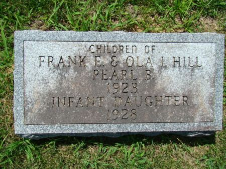 HILL, INFANT DAUGHTER - Jefferson County, Iowa | INFANT DAUGHTER HILL