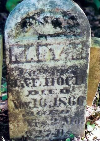 HOCH, MARY M. - Jefferson County, Iowa   MARY M. HOCH