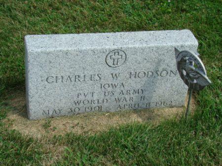 HODSON, CHARLES WILTON - Jefferson County, Iowa | CHARLES WILTON HODSON