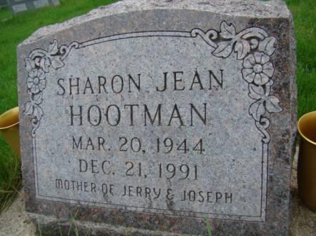 WEAVER HOOTMAN, SHARON JEAN - Jefferson County, Iowa   SHARON JEAN WEAVER HOOTMAN