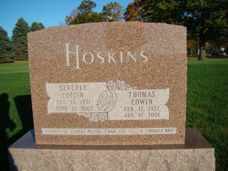 HOSKINS, THOMAS EDWIN - Jefferson County, Iowa | THOMAS EDWIN HOSKINS