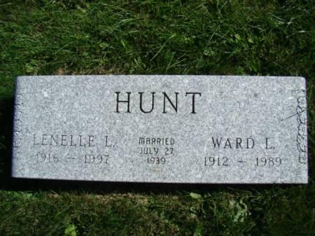 LISCO HUNT, LENELLE - Jefferson County, Iowa   LENELLE LISCO HUNT