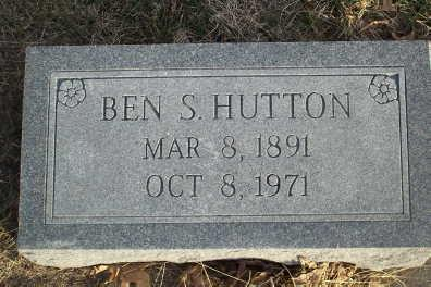HUTTON, BEN S. - Jefferson County, Iowa | BEN S. HUTTON