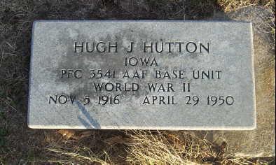 HUTTON, HUGH J. - Jefferson County, Iowa | HUGH J. HUTTON