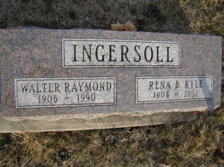 KYLE INGERSOLL, RENA B - Jefferson County, Iowa | RENA B KYLE INGERSOLL