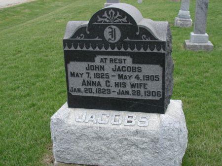 JACOBS, ANNA C - Jefferson County, Iowa | ANNA C JACOBS