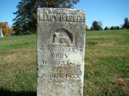 JEFFERS, NANCY ISABEL - Jefferson County, Iowa | NANCY ISABEL JEFFERS