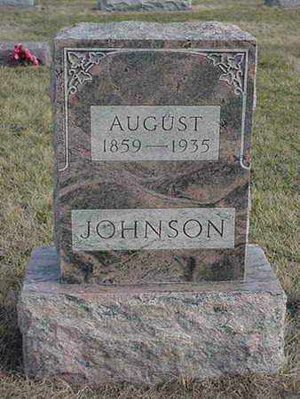JOHNSON, AUGUST - Jefferson County, Iowa   AUGUST JOHNSON