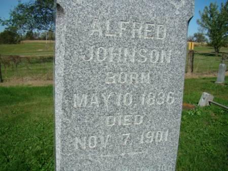 JOHNSON, ALFRED - Jefferson County, Iowa | ALFRED JOHNSON