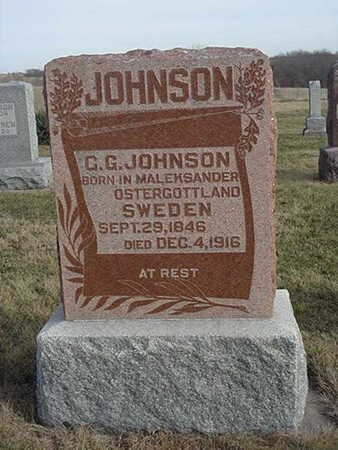 JOHNSON, C. G. - Jefferson County, Iowa | C. G. JOHNSON