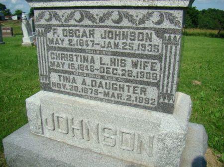 JOHNSON, CHRISTINA L - Jefferson County, Iowa   CHRISTINA L JOHNSON