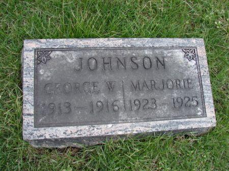JOHNSON, GEORGE W - Jefferson County, Iowa | GEORGE W JOHNSON