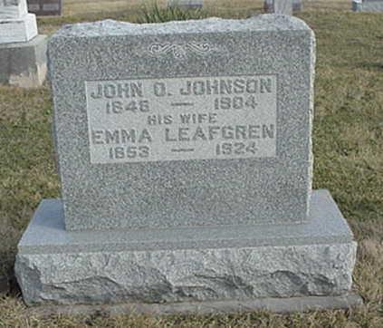 JOHNSON, EMMA - Jefferson County, Iowa | EMMA JOHNSON