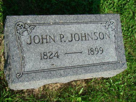 JOHNSON, JOHN P - Jefferson County, Iowa | JOHN P JOHNSON
