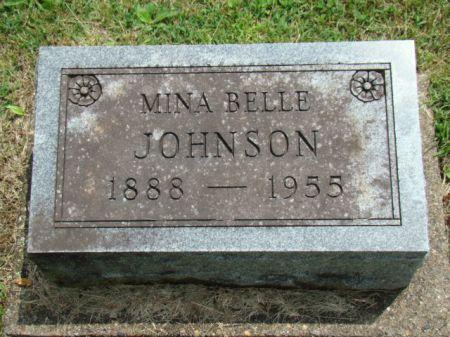 JOHNSON, MINA BELLE - Jefferson County, Iowa | MINA BELLE JOHNSON