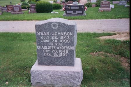 JOHNSON, SWAN - Jefferson County, Iowa | SWAN JOHNSON