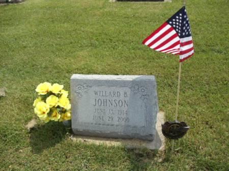 JOHNSON, WILLARD B - Jefferson County, Iowa   WILLARD B JOHNSON