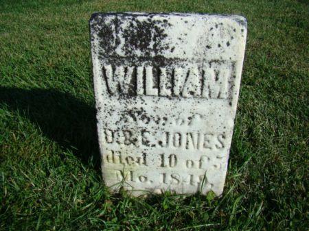 JONES, WILLIAM - Jefferson County, Iowa   WILLIAM JONES