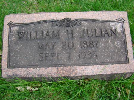 JULIAN, WILLIAM H - Jefferson County, Iowa   WILLIAM H JULIAN