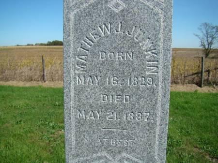 JUNKIN, MATHEW J - Jefferson County, Iowa   MATHEW J JUNKIN