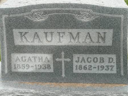 KAUFMAN, AGATHA - Jefferson County, Iowa | AGATHA KAUFMAN