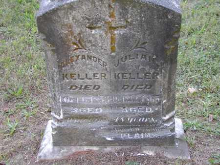 KELLER, ALEXANDER - Jefferson County, Iowa | ALEXANDER KELLER