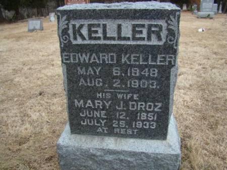 KELLER, EDWARD - Jefferson County, Iowa   EDWARD KELLER