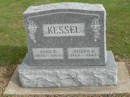 MESSER KESSEL, ANNA DOROTHY - Jefferson County, Iowa | ANNA DOROTHY MESSER KESSEL