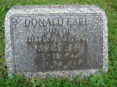KNEDLER, DONALD EARL - Jefferson County, Iowa   DONALD EARL KNEDLER