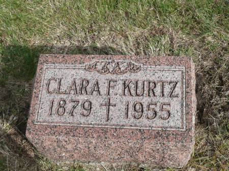 KURTZ, CLARA F - Jefferson County, Iowa | CLARA F KURTZ
