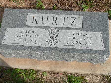 KURTZ, WALTER - Jefferson County, Iowa | WALTER KURTZ