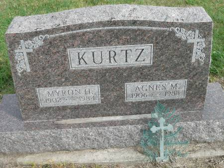 KURTZ, AGNES M - Jefferson County, Iowa | AGNES M KURTZ