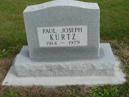 KURTZ, PAUL JOSEPH - Jefferson County, Iowa | PAUL JOSEPH KURTZ